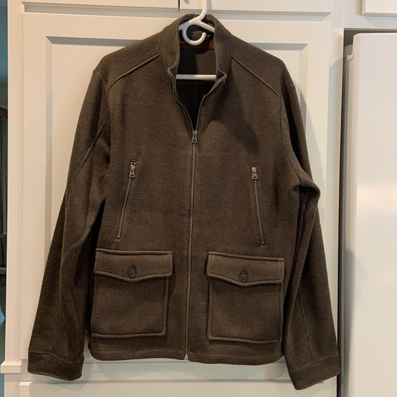 Perry Ellis Zip Up Jacket